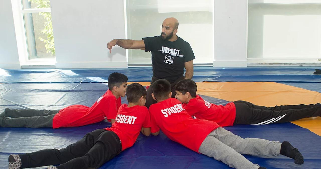 boxing teaching