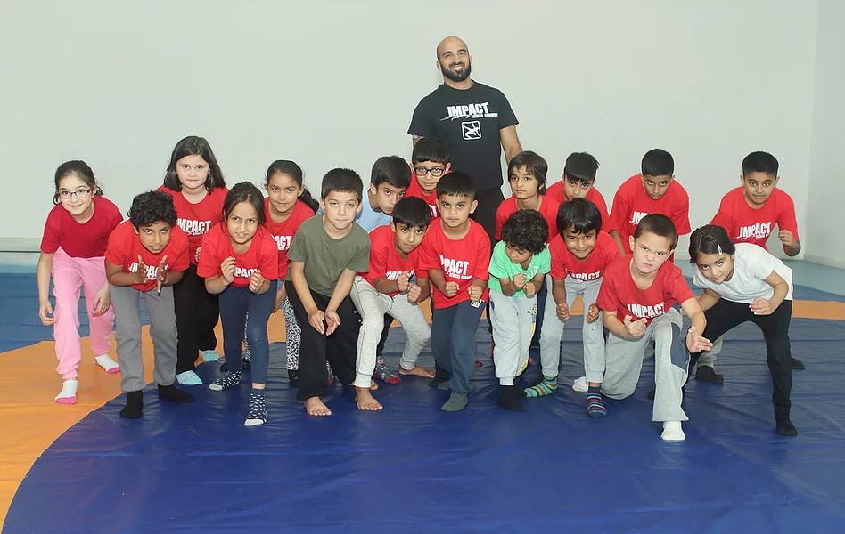 freestyle wrestling children